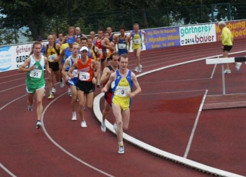 5000 M Lauf Tabelle